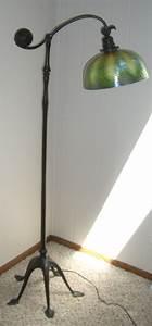 genuine antique tiffany studios floor lamp it has a With genuine tiffany floor lamp