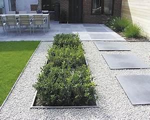gravier autour de la maison 14 le jardin moderne aco With gravier autour de la maison