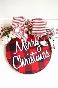Reifen Mit Weißer Schrift : dieser einzigartige bauernhaus weihnachten kranz besteht ~ Kayakingforconservation.com Haus und Dekorationen
