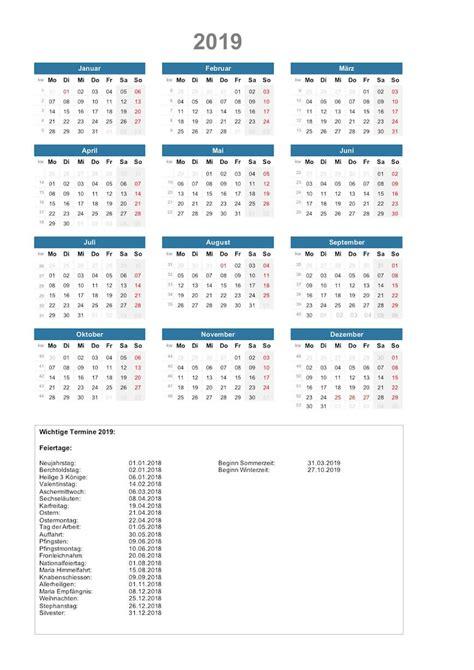 kalender schweiz zum ausdrucken als vorlagen