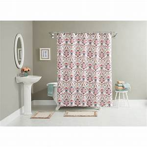 Wallpaper borders with matching shower curtains savaeorg for Matching bathroom accessories sets