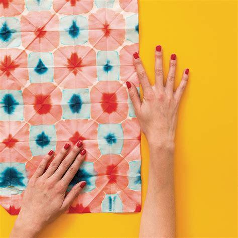 dyed washi paper  house  lars built