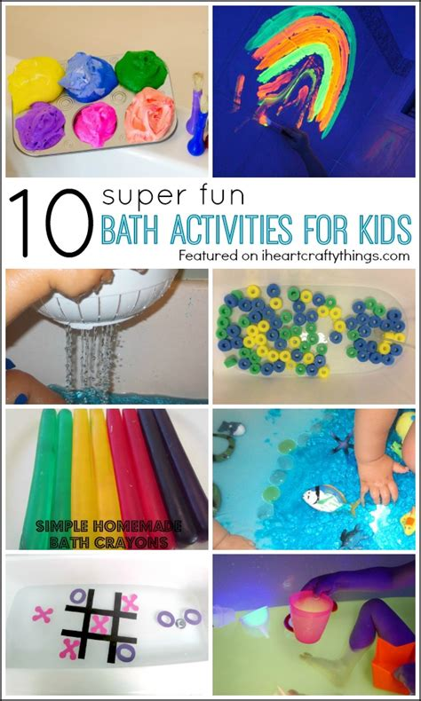 10 super fun bath activities for kids i heart crafty things