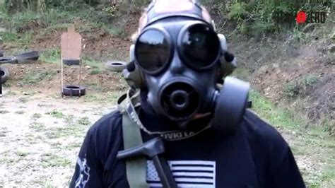 shot drill mp gas mask youtube