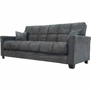 Baja Convert A Couch Sofa Bed Charcoal Grey
