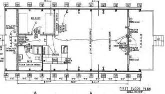 A Frame Cabin House Floor Plan