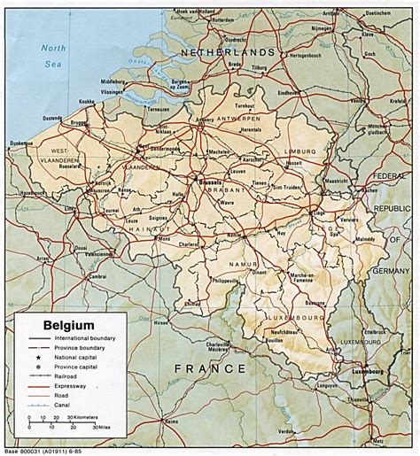 belgium maps perry castaneda map collection ut library