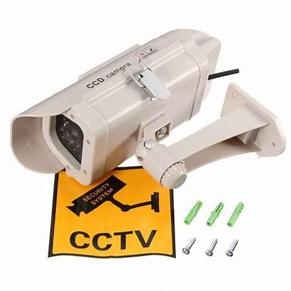 Camera Security Fake Simulation Power Led Surveillance