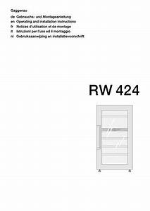 Gaggenau Rw 424 Wine Cabinet