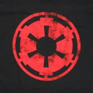 Star Wars Empire Symbol Red