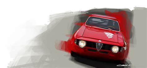 Alfa Romeo Gt Junior Art Print • Simply Petrol