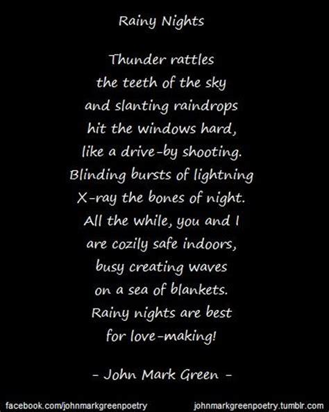 Rainy Night Quotes Tumblr