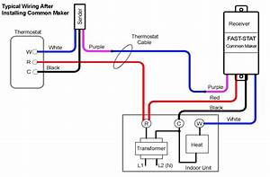 Two Wire Thermostat Wiring Diagram
