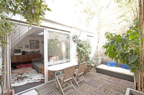paris  appartement avec terrasse  verriere agence