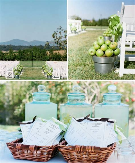 brown and light green wedding decoration weddings on the riviera provence