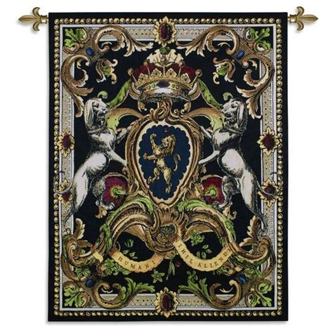 There are 8431 crest wall for sale on etsy, and they cost $46.52 on average. Crest on Black I | Woven Tapestry Wall Art Hanging | Medieval Royal Heraldic Crest | 100% Cotton ...