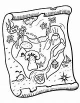 Treasure Coloring Map Pages Printable Maps Pdf Pirate Coloringcafe Colouring Sheet Printables Summer Activities Crafts Camps sketch template
