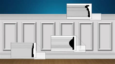 Trim For Wainscoting by Wainscot Paneling Wainscotting