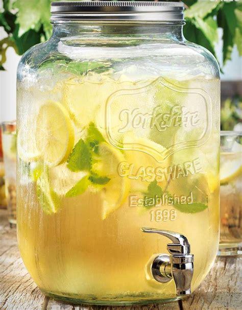 mason jar beverage dispenser jebiga design lifestyle