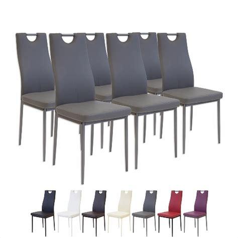 Chaise De Salle A Manger En Cuir Design