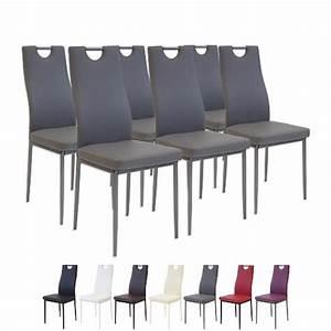chaise de salle a manger en cuir design With chaises de salle à manger design