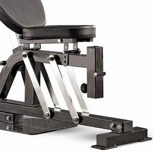 Marcy Pro Pm4400 Leverage Home Multi Gym Chest Press Adjustable Weight Bench