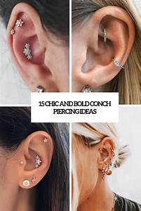 15 Chic And Bold Conch Piercing Ideas