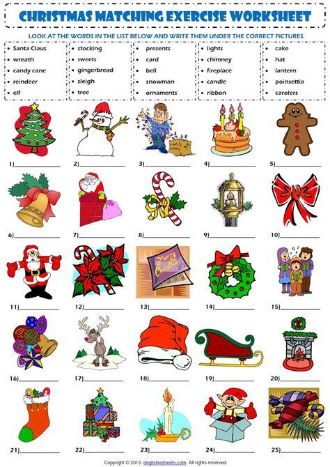 El Mundo De 6ºc Christmas Vocabulary
