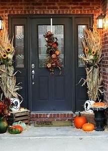 40, Easy, Thanksgiving, Front, Door, Decorations, Ideas