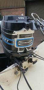 Mercury 500 Thunderbolt 50hp 2 Stroke Outboard Engine  Sold Pending Collection