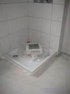 Duschwanne Flach Einbauen : duschtasse einbauen anleitung zy27 hitoiro ~ Michelbontemps.com Haus und Dekorationen