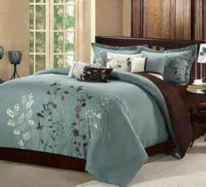 bliss garden 8 piece sage comforter set contemporary comforters and comforter sets by