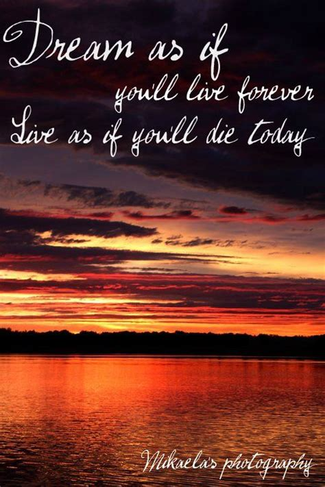 real sunset meaningful quote mikaelas photography