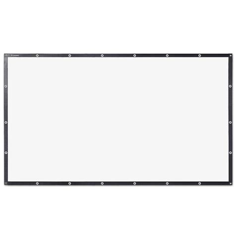 diy projector screen  tv home theater pvc leather