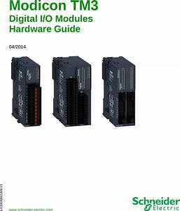 Modicon Tm3 Digital I  O Modules Hardware Guide 04  2014