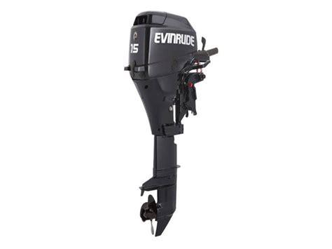 2017 Evinrude 15 Hp E15rgl4 Outboard Motor