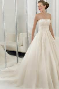 organza wedding dresses simple design organza wedding dress with a line hemline sang maestro
