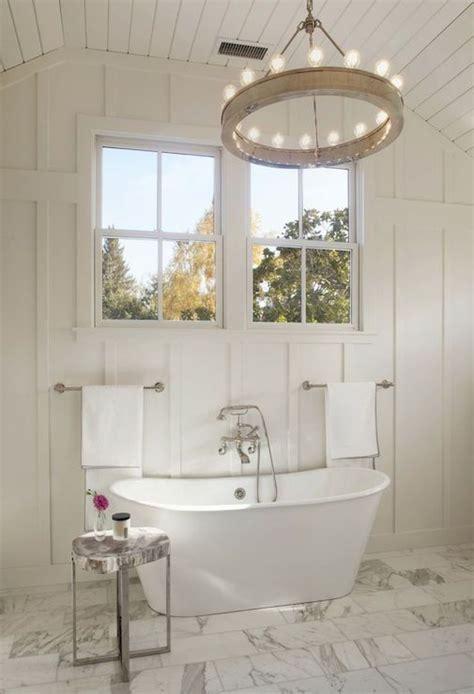Decorpad Modern Bathroom by Bathroom Board And Batten Transitional Bathroom