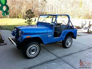 Rare 1973 Jeep Cj5  Must See And Hear Amc V8