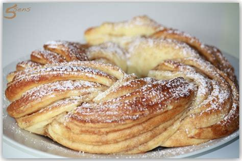 cuisine originale recette kringel estonien recette originale les 5 sens en cuisine
