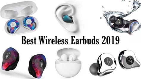 the best wireless earbuds and earphones in 2019 true wireless earphones 2019 2020 best bluetooth 5 0 earbuds enfobay