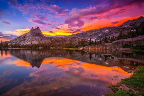 united states california yosemite national park mountain