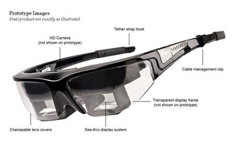 vuzix star  oculos de realidade aumentada mostra