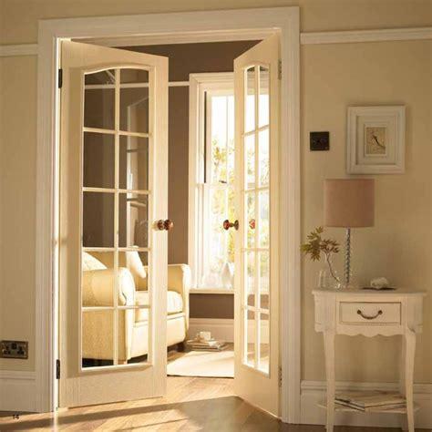 French Door To Tv Room  Traditional  Interior Doors