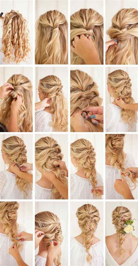 How To Hairstyles Step By For Weddings   HairStyles