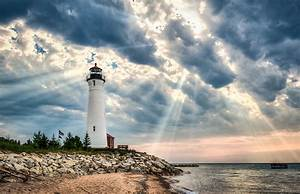 After The Storm Crisp Point Lighthouse Photograph by Bruce ...