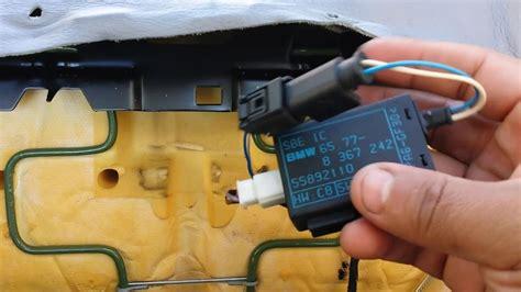front seat occupancy sensor removal bmw il