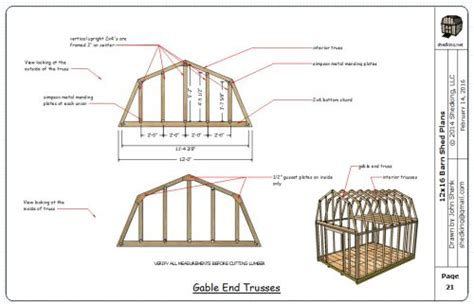 12x16 gambrel roof shed plans 12x16 barn plans barn shed plans small barn plans