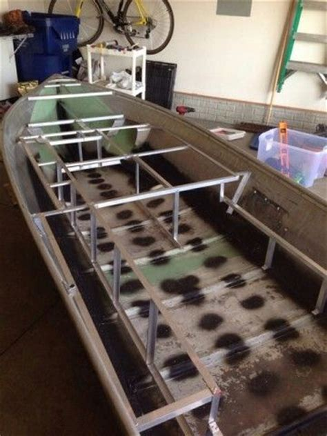 Aluminum Jon Boat Makers by Framing Aluminum Boat Modifications