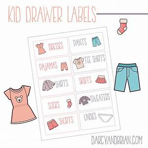 printable labels for organizing kids clothes plus tips With free printable clothing labels